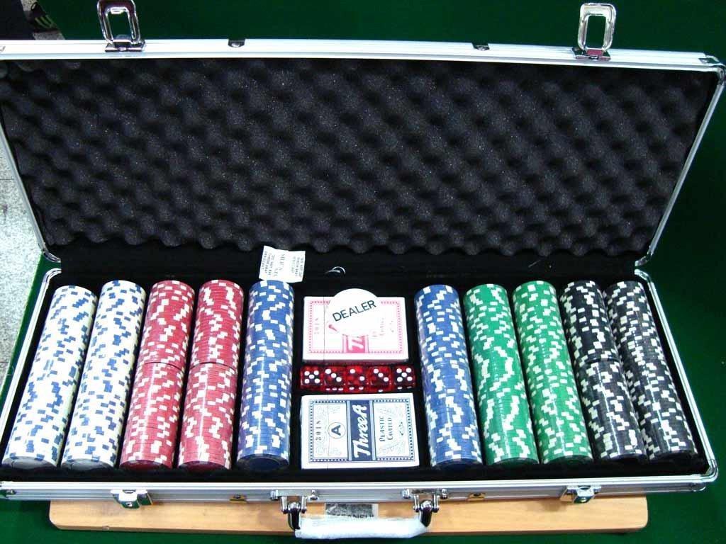 poker set auction